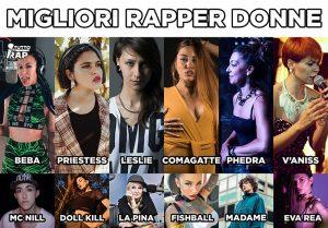 Immagine con headline: migliri rapper donne femminili