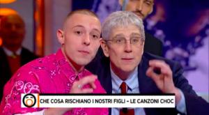 Immagine: Mario Giordano e Vegeta criticano il rap in tv